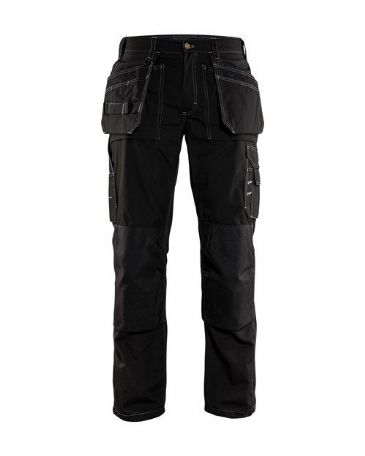 Blaklader 1525 Lightweight Craftsman Trousers (Black)